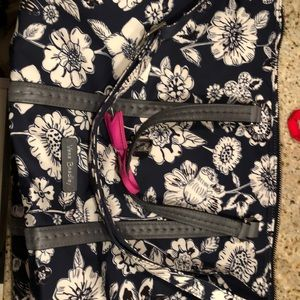 Vera Bradley Midtown Small Tote Midnight Floral